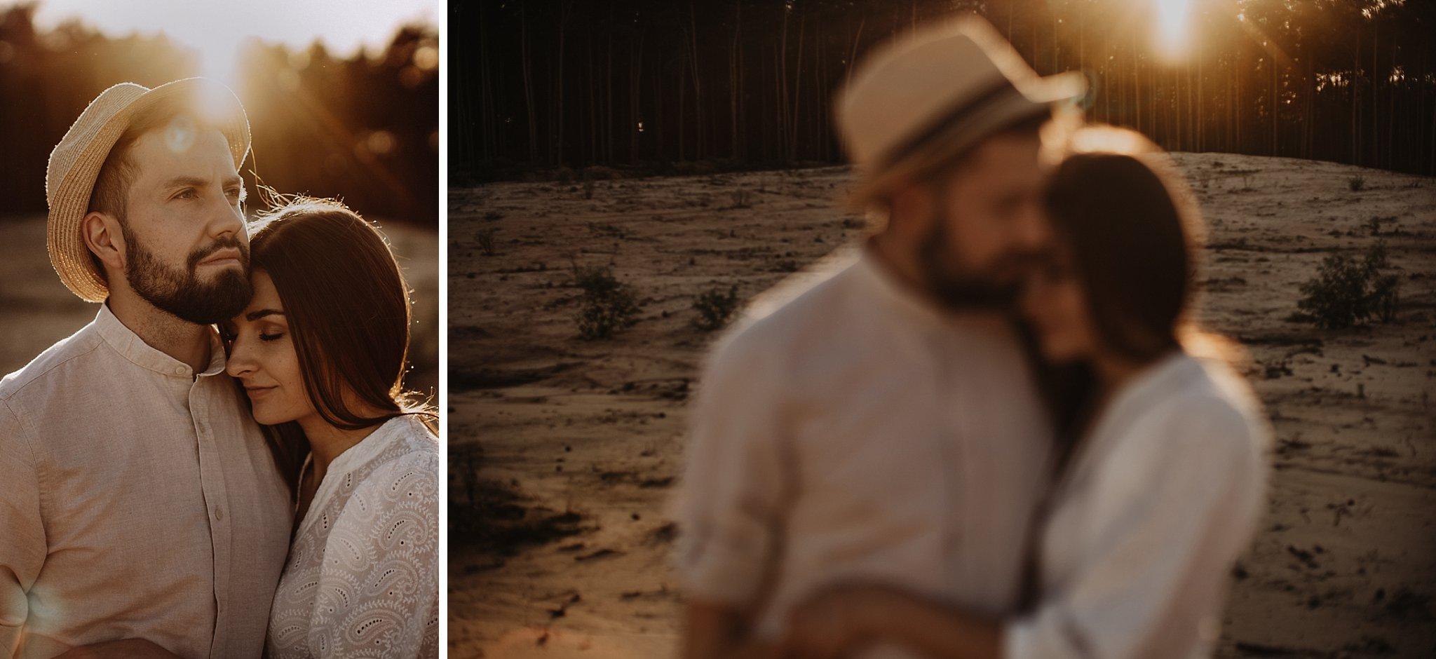 piekna sesja narzeczenska rustykalna romantyczna sesja na pustyni sesja zdjeciowa poznan krugphotography fotograf slubny z poznania fotografia slubna poznan 3400