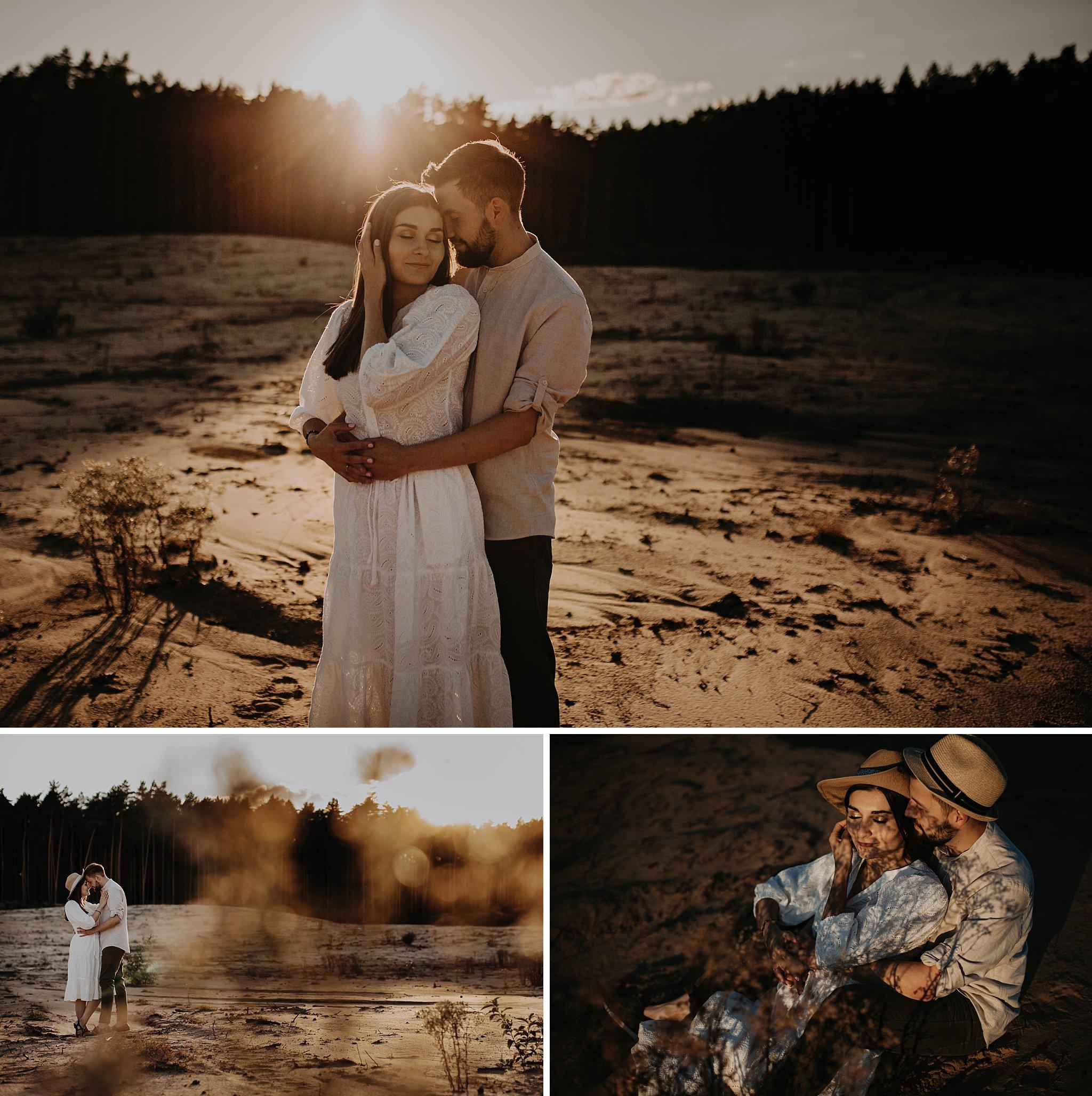 piekna sesja narzeczenska rustykalna romantyczna sesja na pustyni sesja zdjeciowa poznan krugphotography fotograf slubny z poznania fotografia slubna poznan 3900