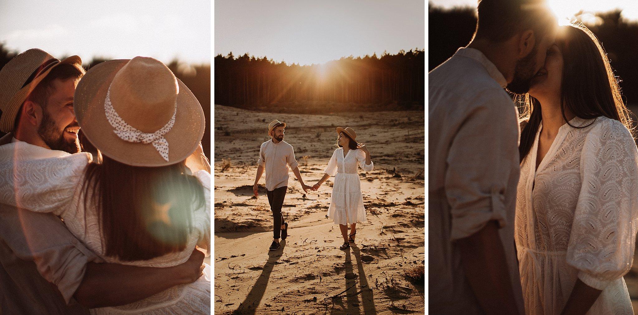 piekna sesja narzeczenska rustykalna romantyczna sesja na pustyni sesja zdjeciowa poznan krugphotography fotograf slubny z poznania fotografia slubna poznan 4600