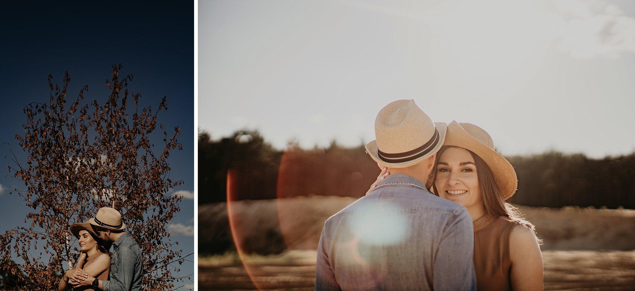 piekna sesja narzeczenska rustykalna romantyczna sesja na pustyni sesja zdjeciowa poznan krugphotography fotograf slubny z poznania fotografia slubna poznan 500