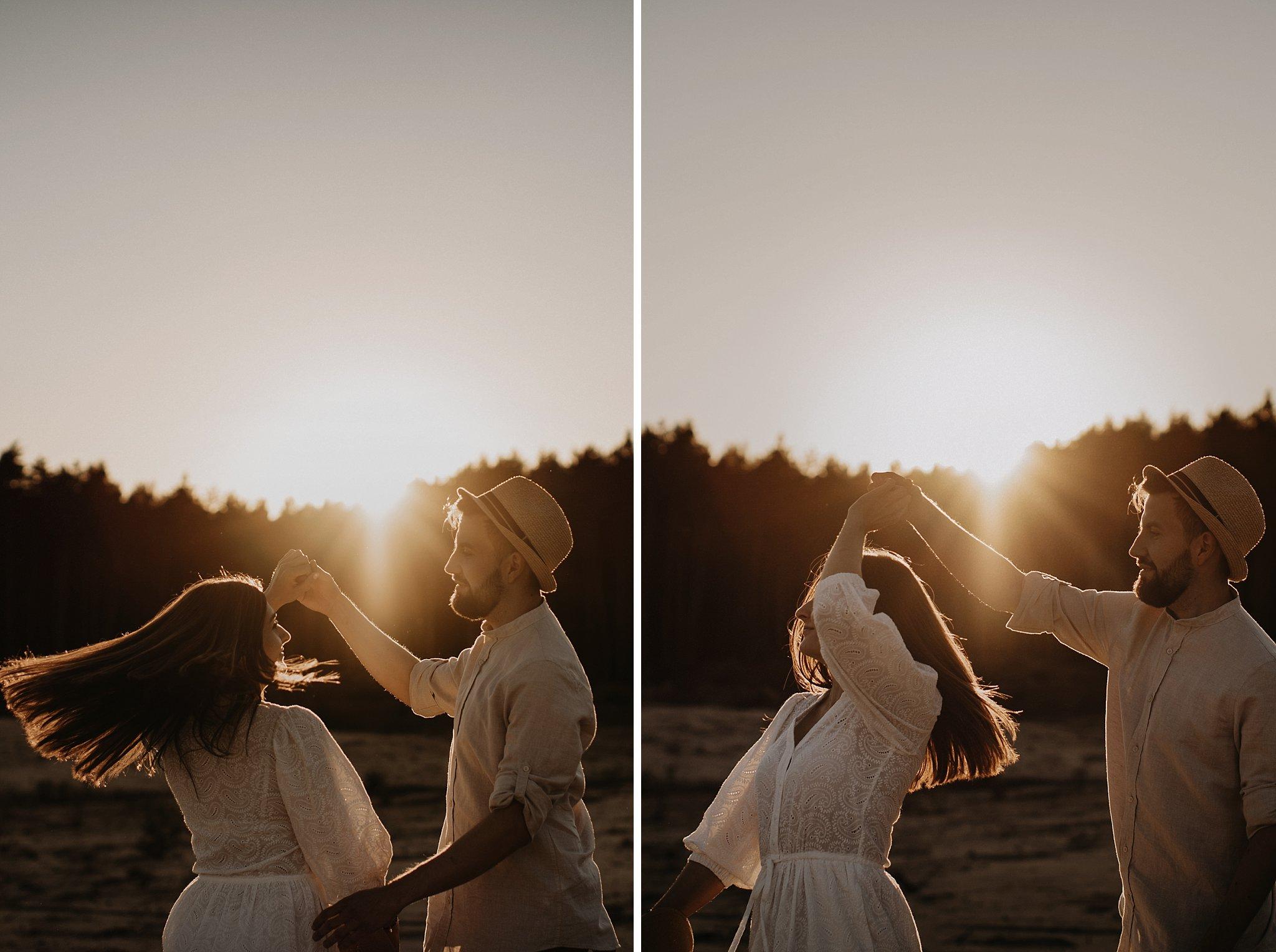 piekna sesja narzeczenska rustykalna romantyczna sesja na pustyni sesja zdjeciowa poznan krugphotography fotograf slubny z poznania fotografia slubna poznan 5300