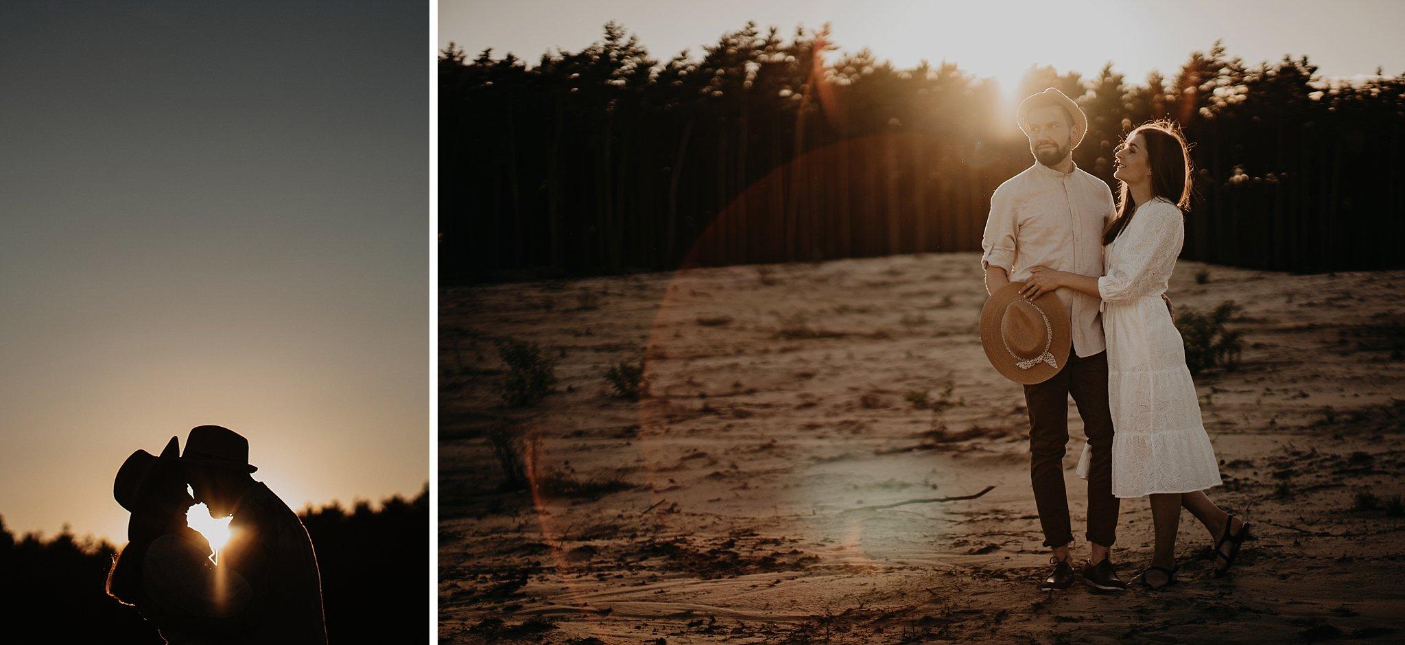 piekna sesja narzeczenska rustykalna romantyczna sesja na pustyni sesja zdjeciowa poznan krugphotography fotograf slubny z poznania fotografia slubna poznan 5600
