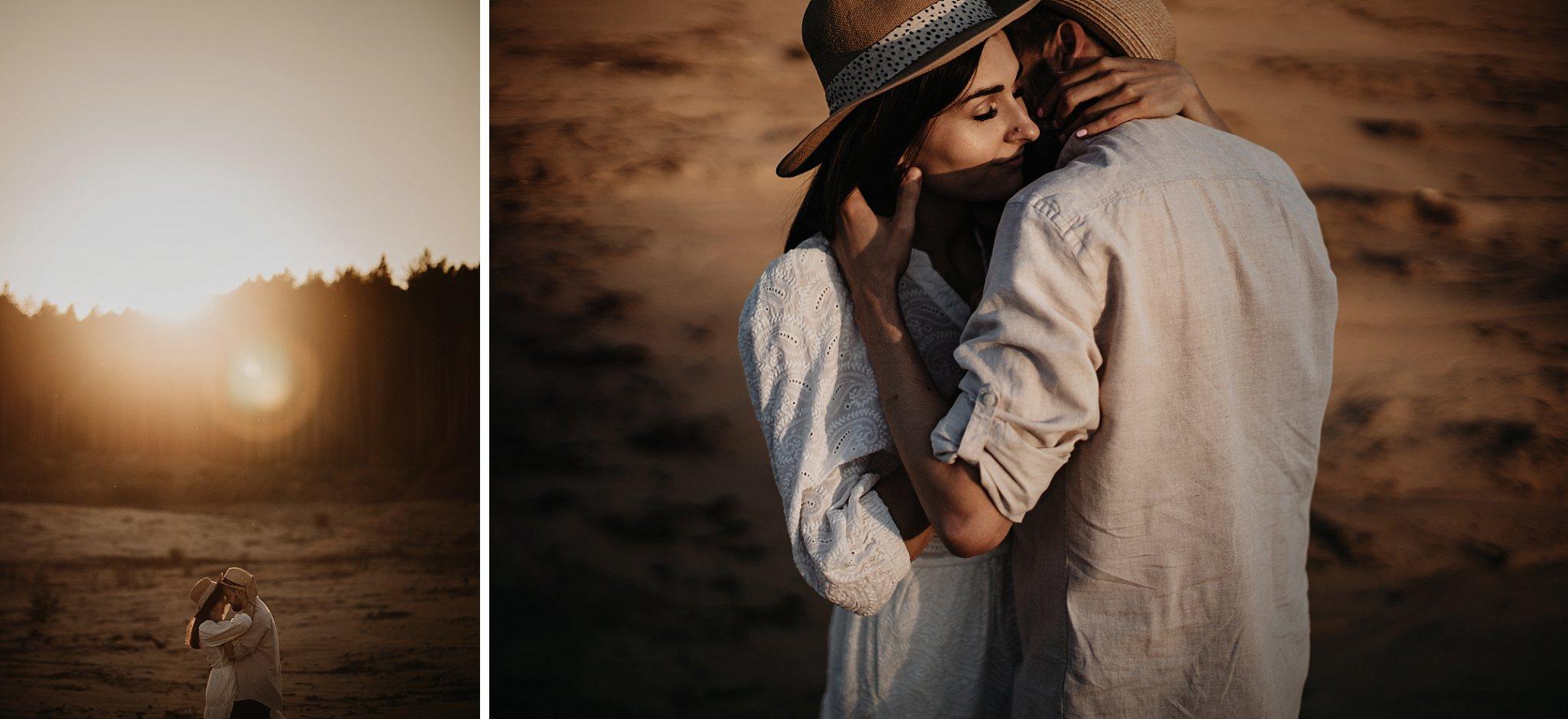 piekna sesja narzeczenska rustykalna romantyczna sesja na pustyni sesja zdjeciowa poznan krugphotography fotograf slubny z poznania fotografia slubna poznan 5700