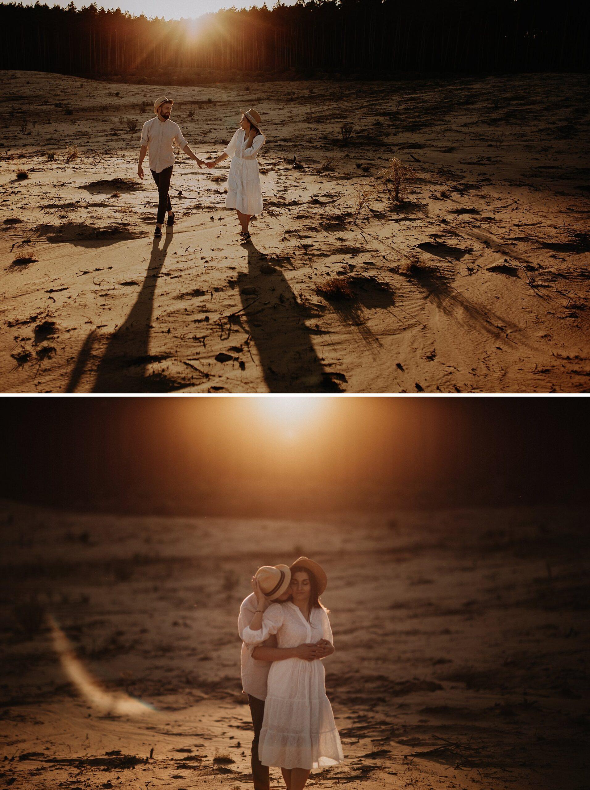 piekna sesja narzeczenska rustykalna romantyczna sesja na pustyni sesja zdjeciowa poznan krugphotography fotograf slubny z poznania fotografia slubna poznan 6100 scaled