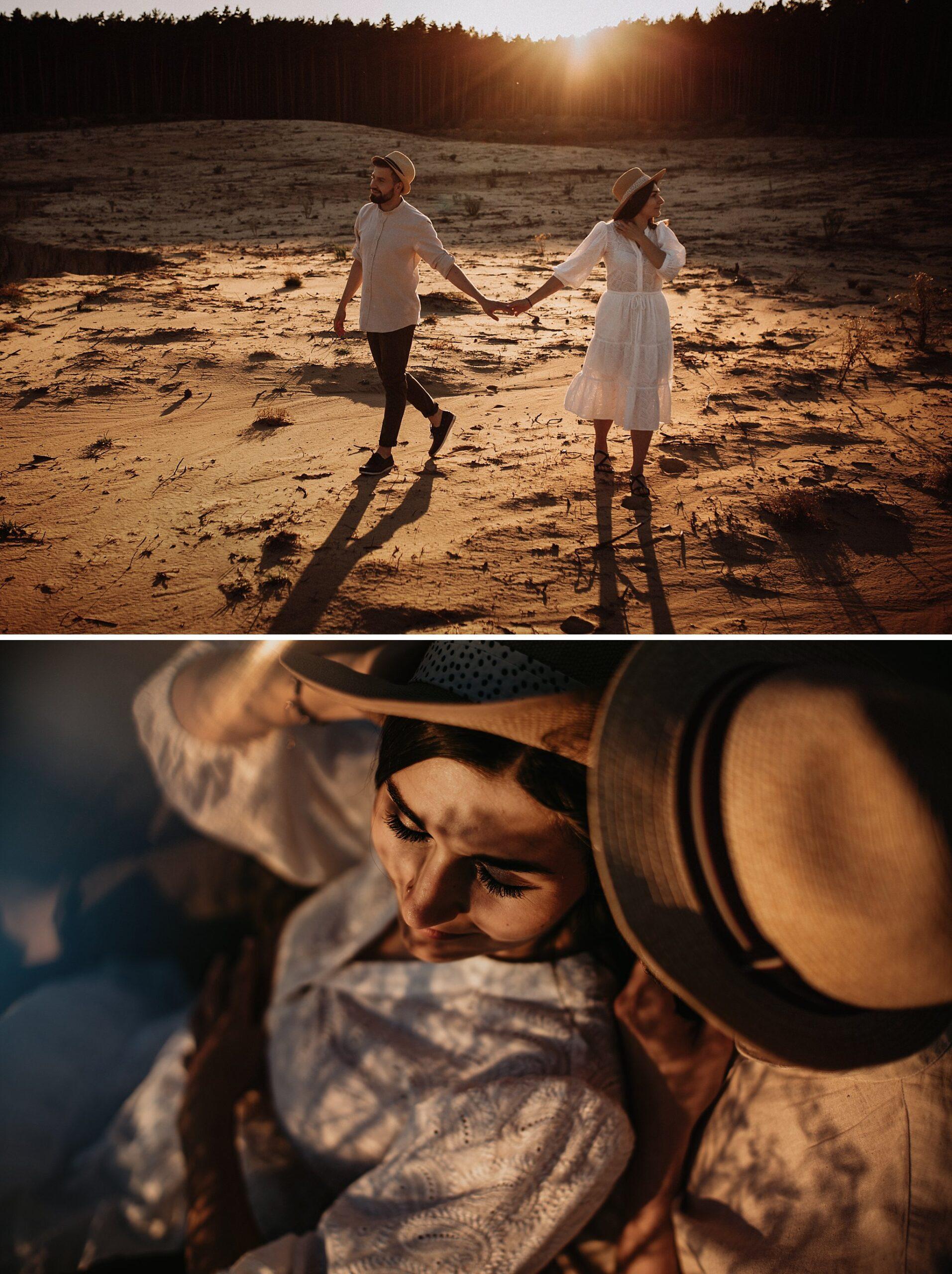 piekna sesja narzeczenska rustykalna romantyczna sesja na pustyni sesja zdjeciowa poznan krugphotography fotograf slubny z poznania fotografia slubna poznan 6200 scaled