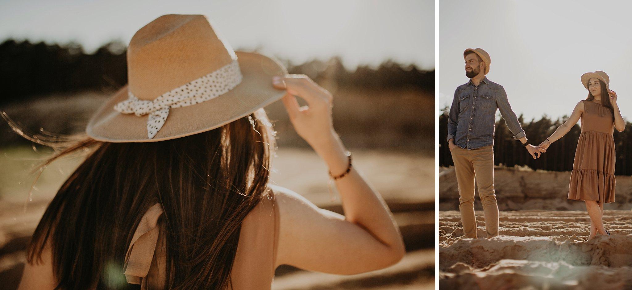 piekna sesja narzeczenska rustykalna romantyczna sesja na pustyni sesja zdjeciowa poznan krugphotography fotograf slubny z poznania fotografia slubna poznan 700