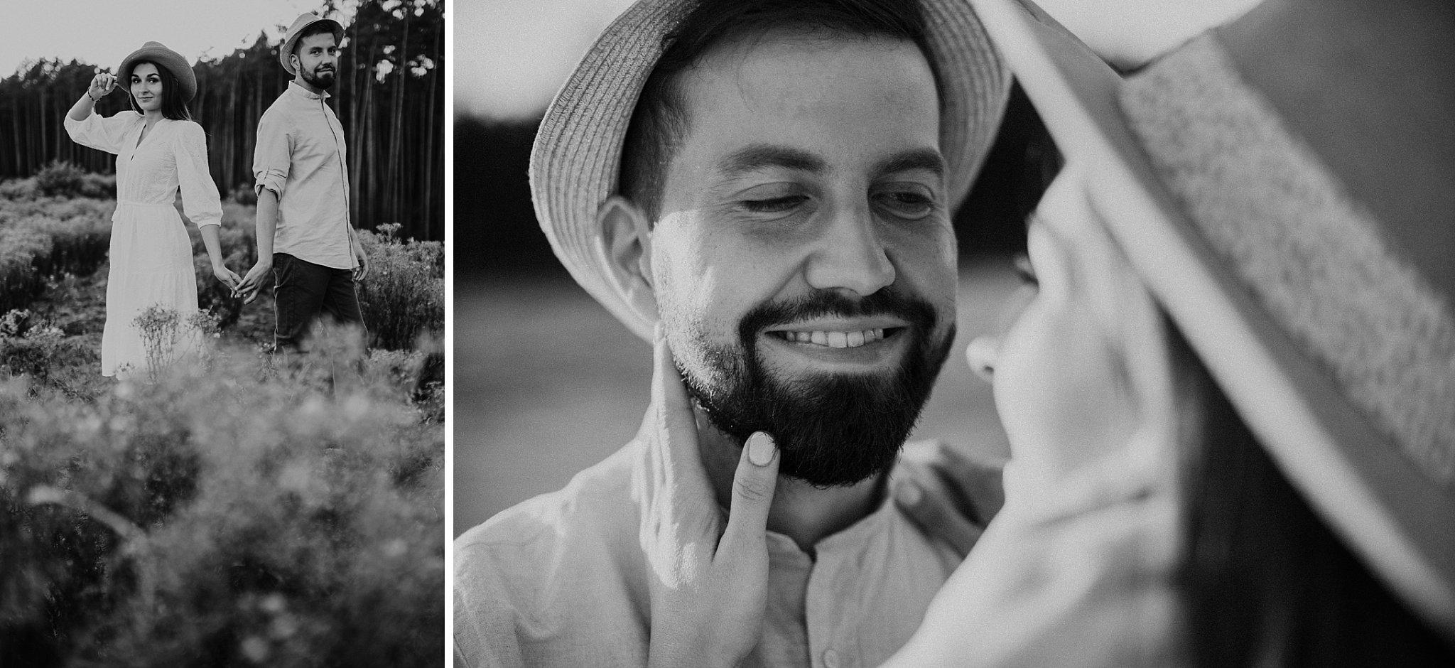 piekna sesja narzeczenska rustykalna romantyczna sesja na pustyni sesja zdjeciowa poznan krugphotography fotograf slubny z poznania fotografia slubna poznan 7100