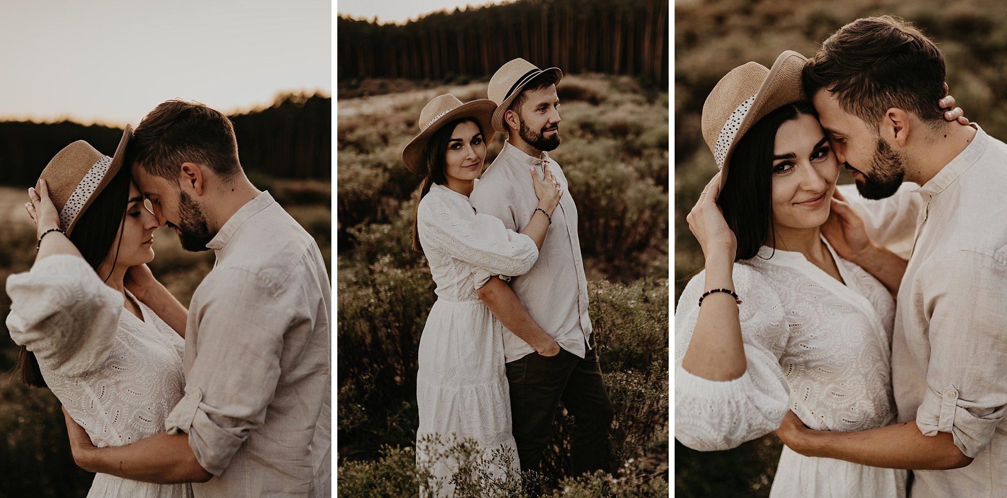 piekna sesja narzeczenska rustykalna romantyczna sesja na pustyni sesja zdjeciowa poznan krugphotography fotograf slubny z poznania fotografia slubna poznan 7200