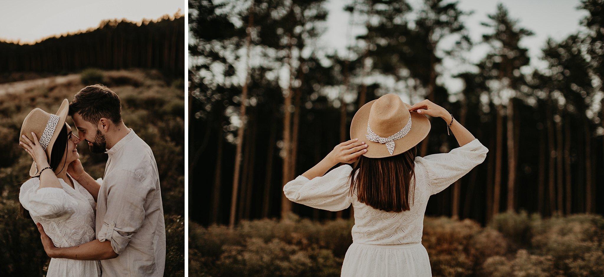 piekna sesja narzeczenska rustykalna romantyczna sesja na pustyni sesja zdjeciowa poznan krugphotography fotograf slubny z poznania fotografia slubna poznan 7300