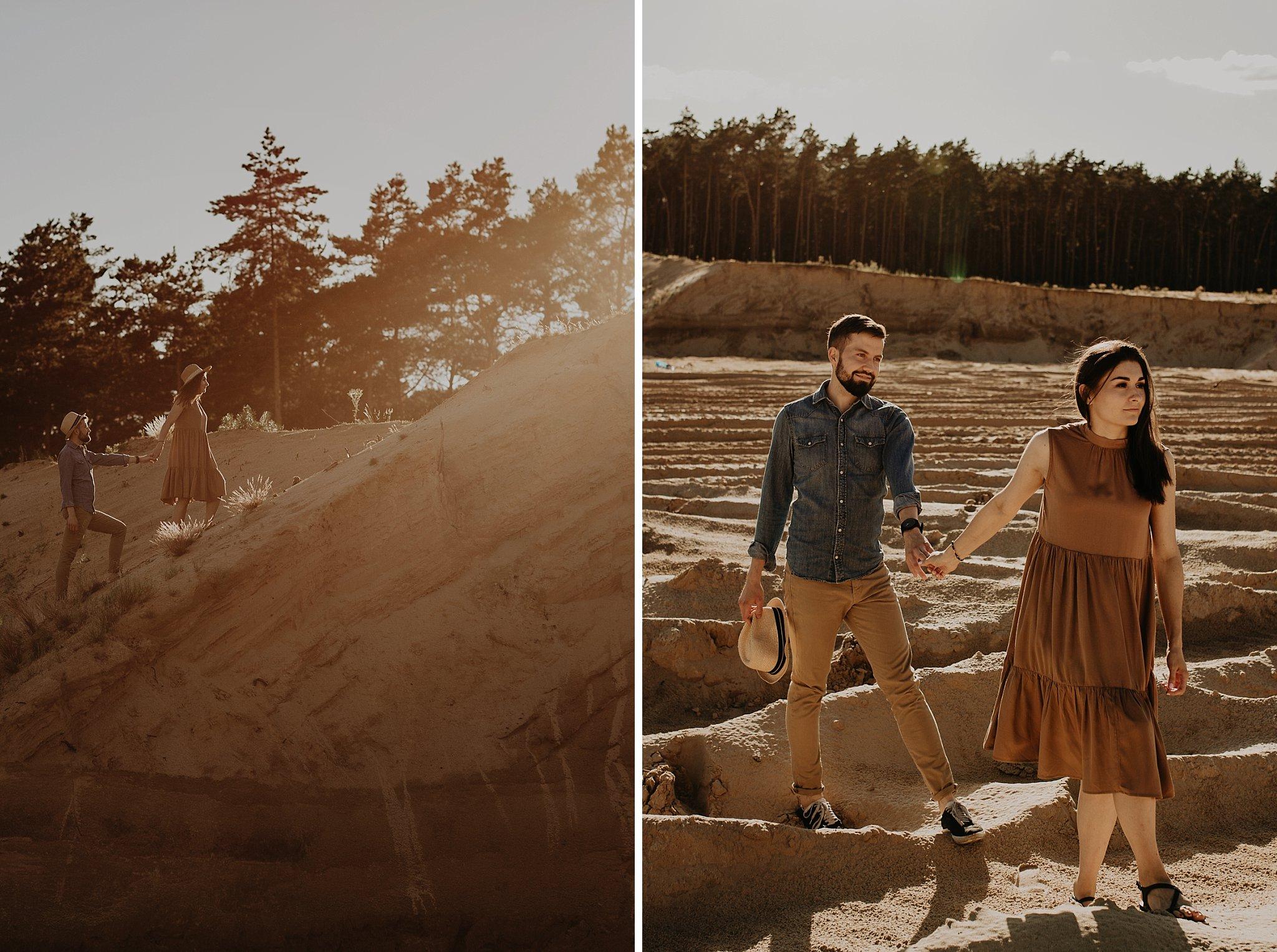 piekna sesja narzeczenska rustykalna romantyczna sesja na pustyni sesja zdjeciowa poznan krugphotography fotograf slubny z poznania fotografia slubna poznan 8700