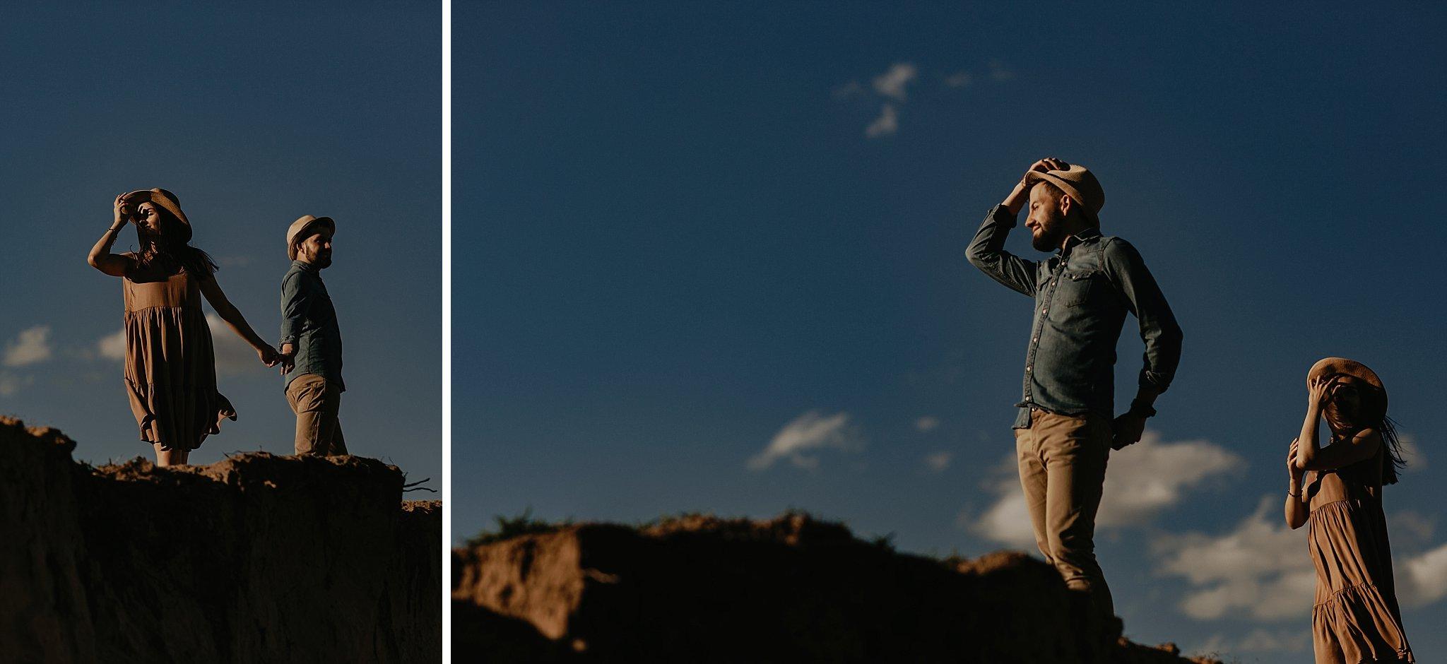 piekna sesja narzeczenska rustykalna romantyczna sesja na pustyni sesja zdjeciowa poznan krugphotography fotograf slubny z poznania fotografia slubna poznan 9100