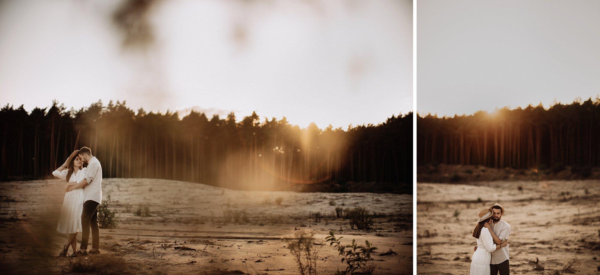 piekna sesja narzeczenska rustykalna romantyczna sesja na pustyni sesja zdjeciowa poznan krugphotography fotograf slubny z poznania fotografia slubna poznan 9500