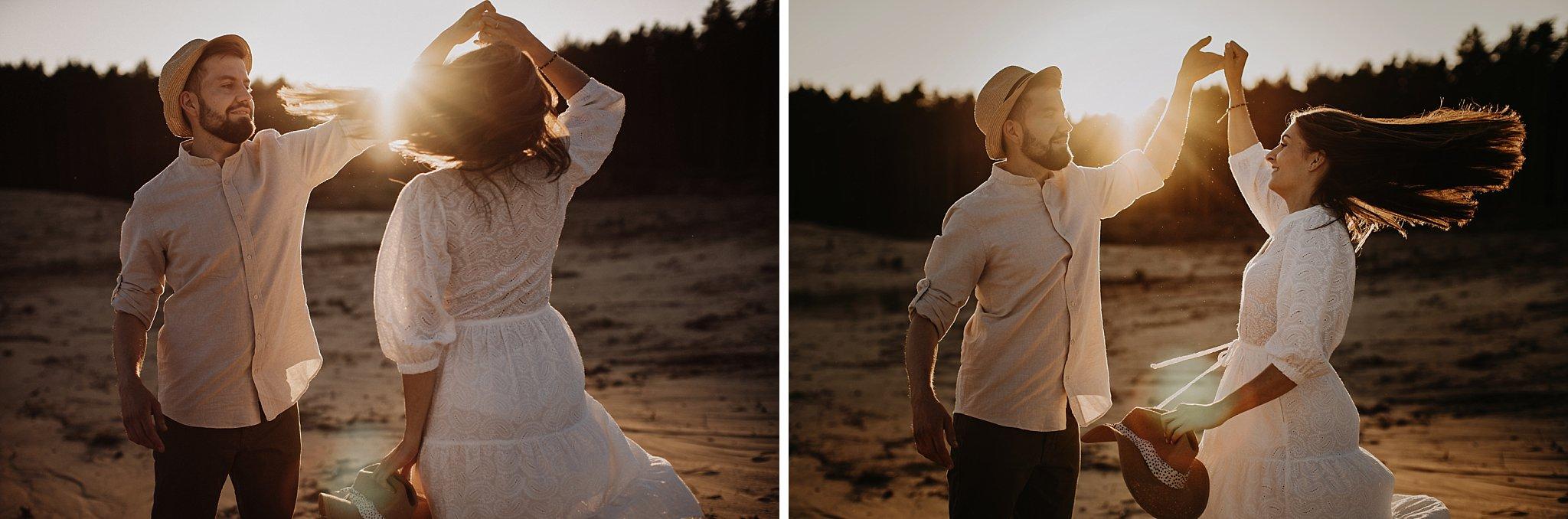 piekna sesja narzeczenska rustykalna romantyczna sesja na pustyni sesja zdjeciowa poznan krugphotography fotograf slubny z poznania fotografia slubna poznan 9600