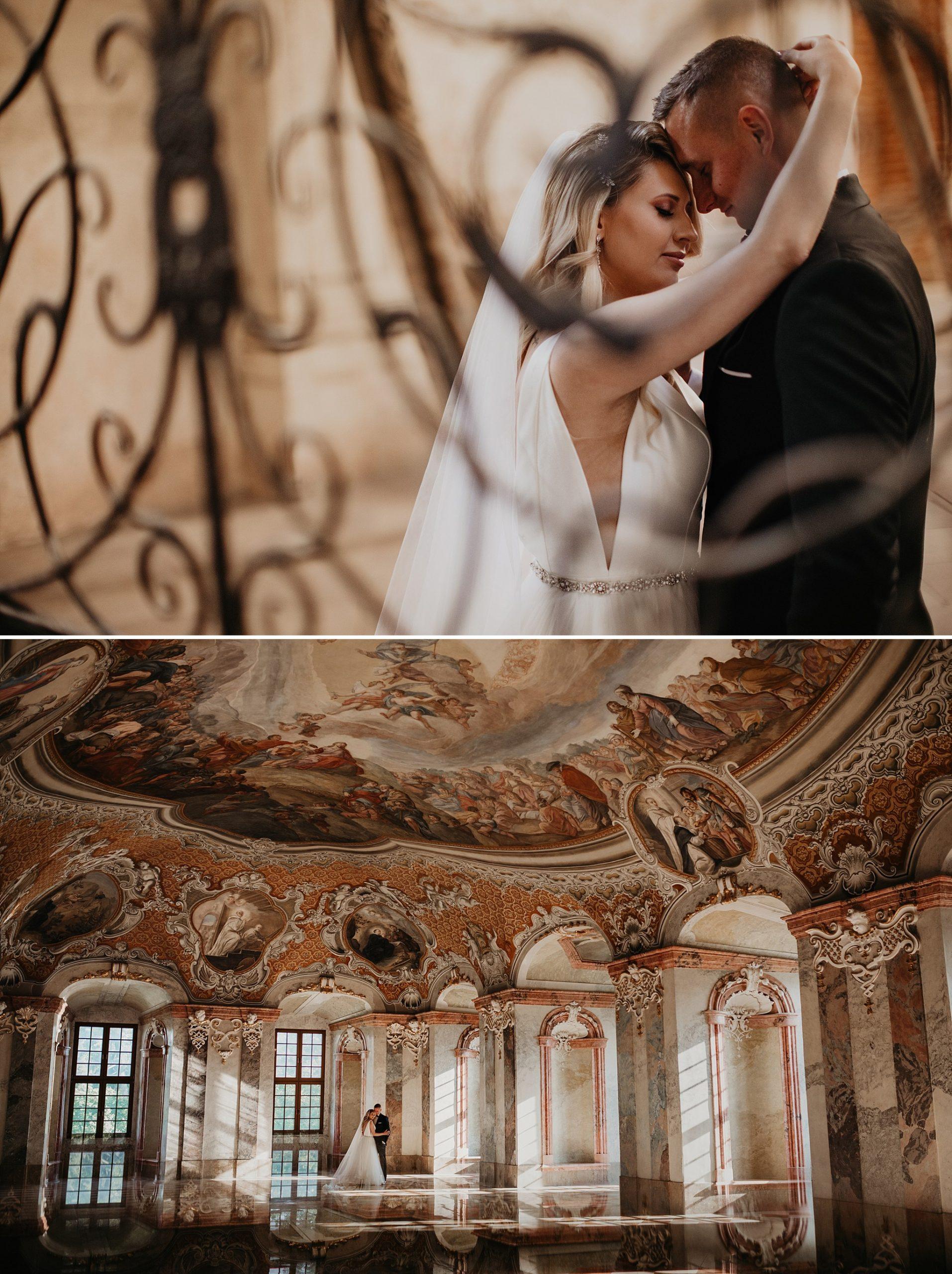 lubiaz opactwo cystersow sesja na zamku sesja zdjeciowa sesja slubna w palacu sesja palac fotograf z poznania fotografia slubna poznan 007 scaled