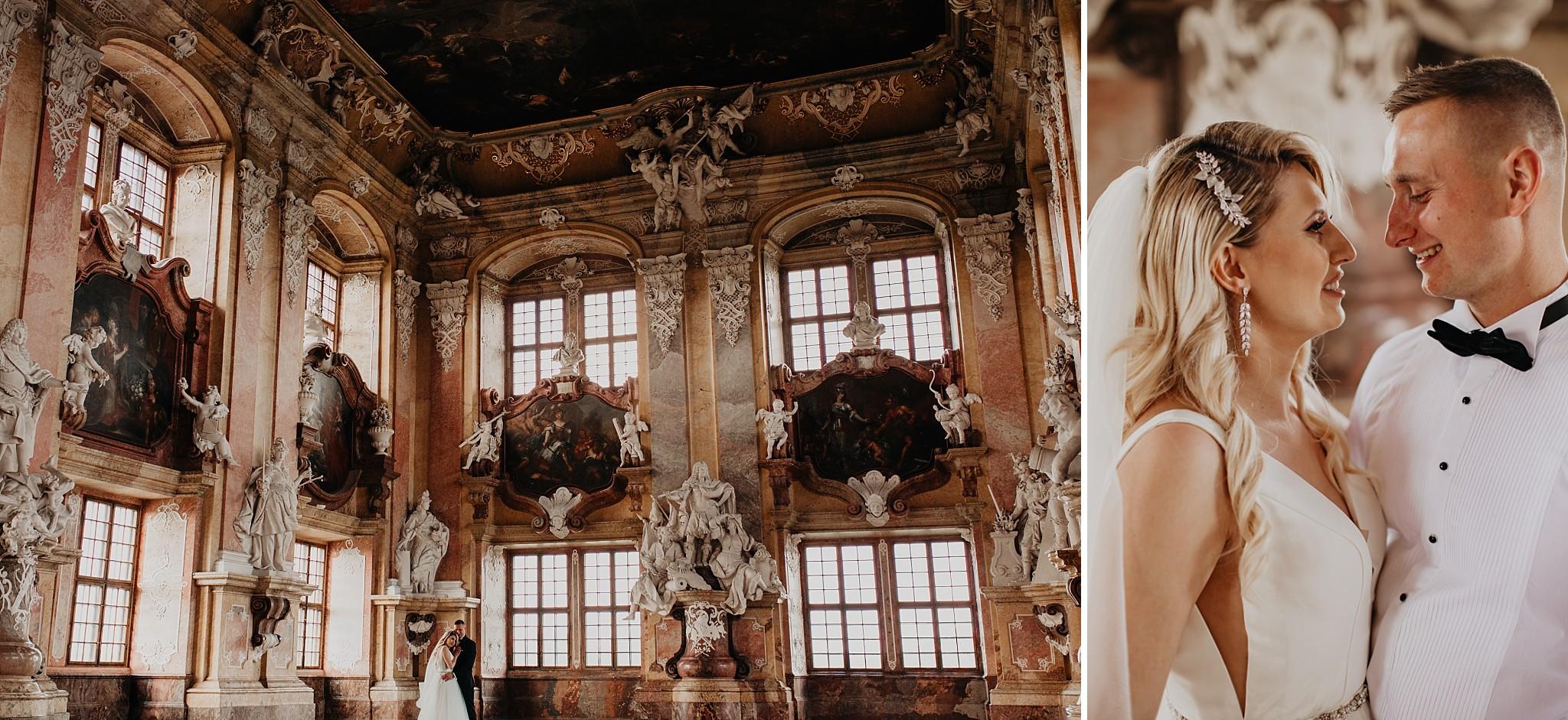 lubiaz opactwo cystersow sesja na zamku sesja zdjeciowa sesja slubna w palacu sesja palac fotograf z poznania fotografia slubna poznan 067