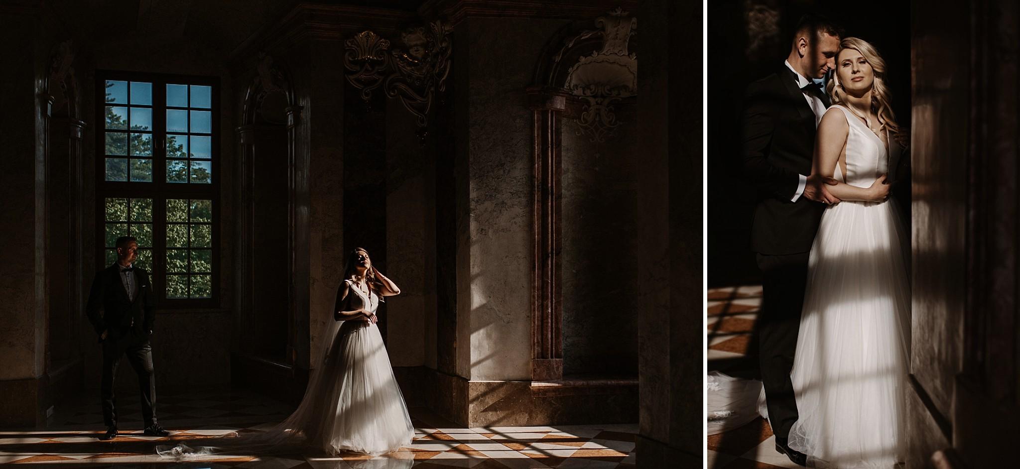 lubiaz opactwo cystersow sesja na zamku sesja zdjeciowa sesja slubna w palacu sesja palac fotograf z poznania fotografia slubna poznan 099